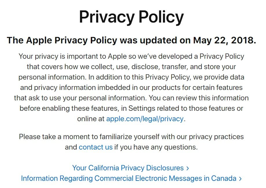 The Business Owner S Guide To Caloppa Free Privacy Policy