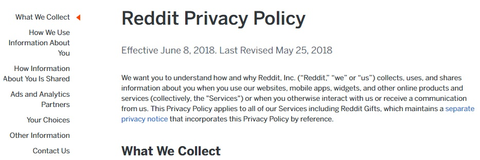 Privacy Policy >> Sample Privacy Policy Template Free Privacy Policy