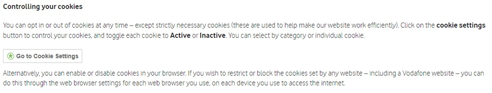 Sample Cookies Policy Template - Free Privacy Policy