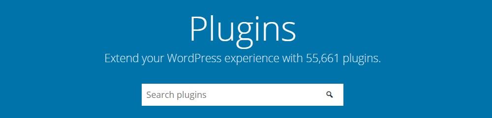 Search tool for WordPress plugins
