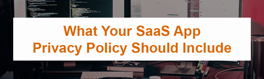 What Your SaaS App Privacy Policy Should Include