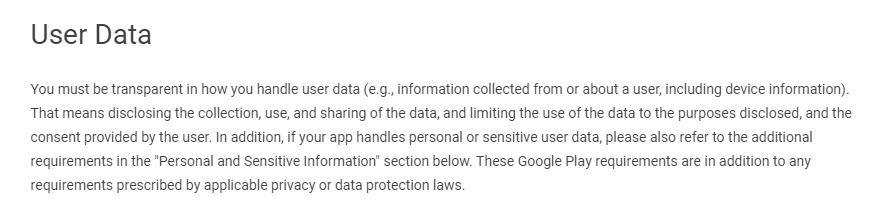 Privacy Policies for Mobile Apps - Free Privacy Policy