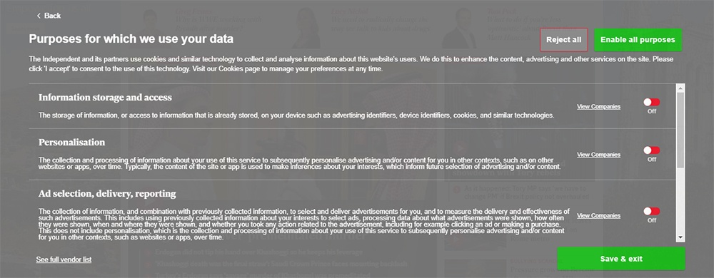 GDPR Privacy Policy Template - Free Privacy Policy