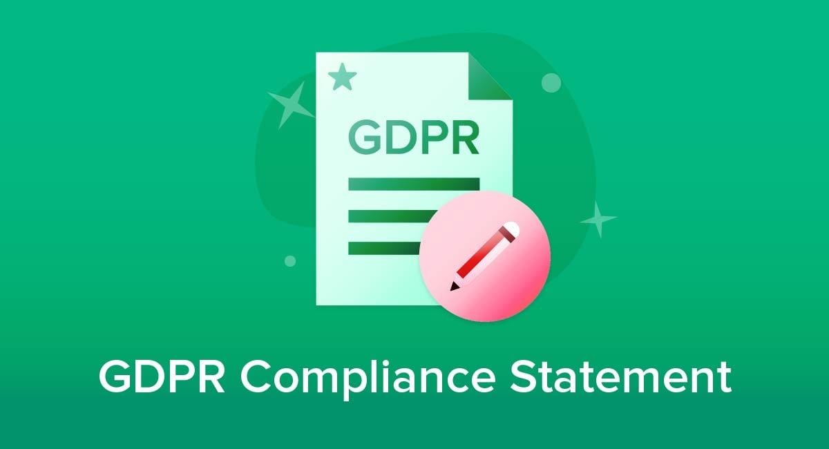GDPR Compliance Statement
