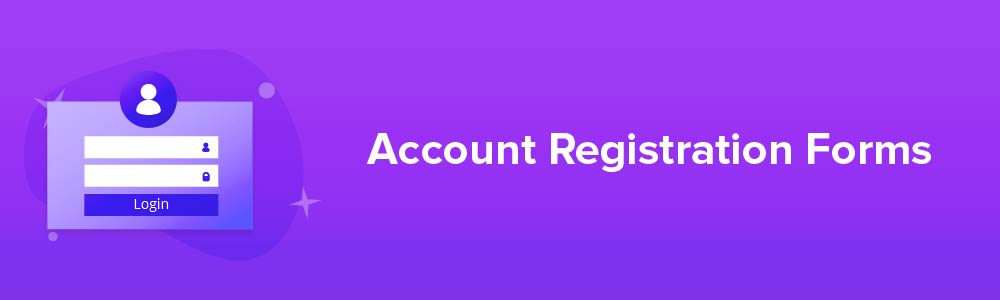 Account Registration Forms