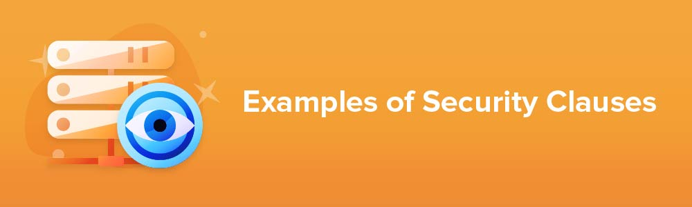 Examples of Security Clauses