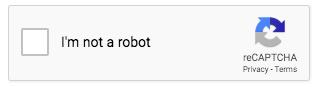 reCAPTCHA: I'm not a robot checkbox