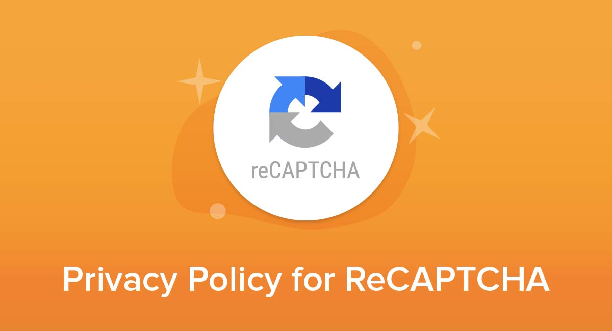Privacy Policy for ReCAPTCHA
