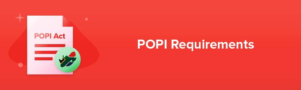 POPI Requirements