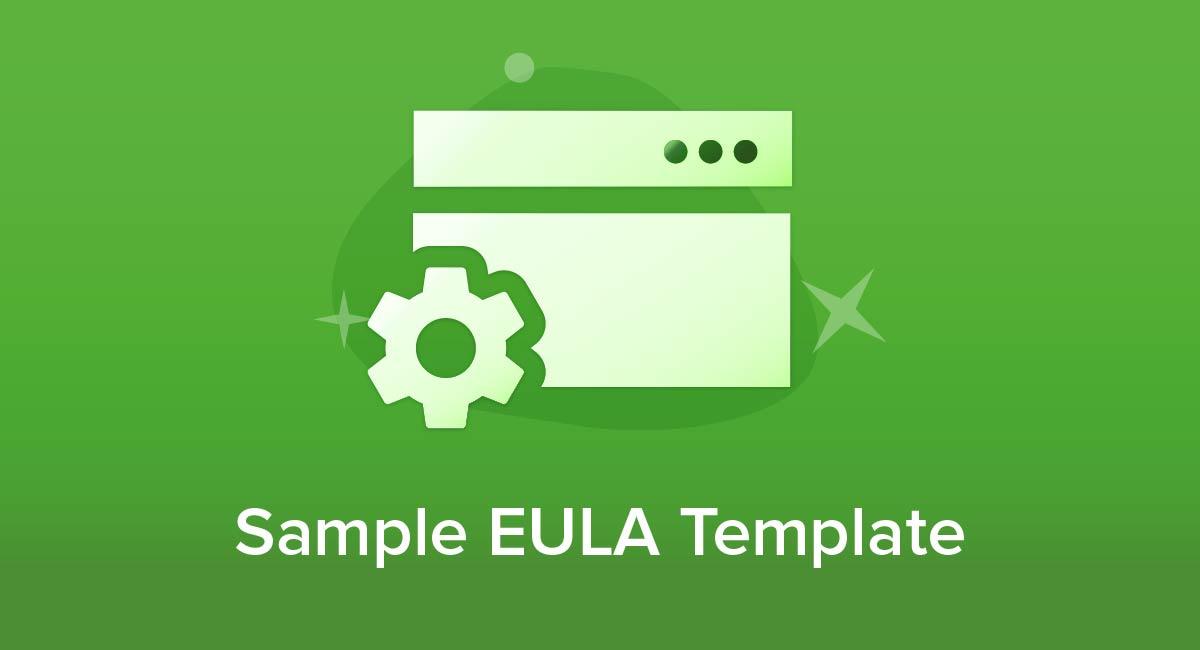 Sample EULA Template