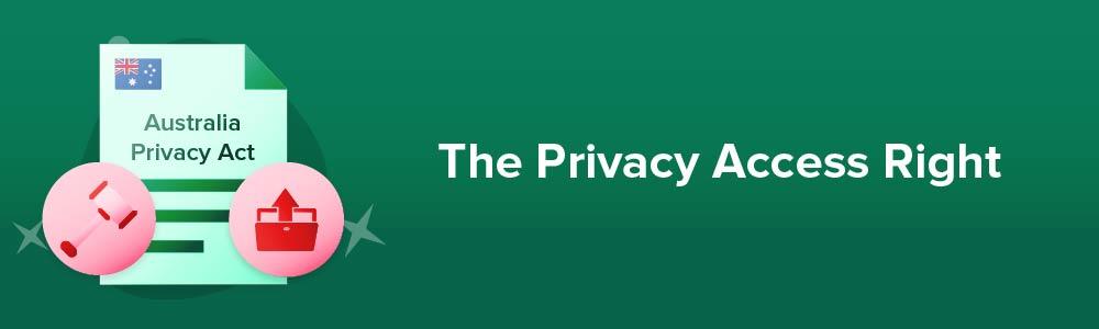 The Privacy Access Right