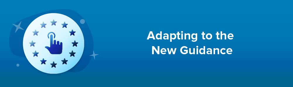 Adapting to the New Guidance