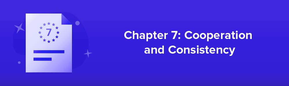 Chapter 7: Cooperation And Consistency