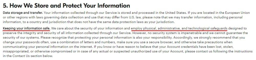 Grubhub Privacy Policy: How We Store and Protect Your Information