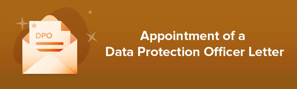 Appointment of a Data Protection Officer Letter