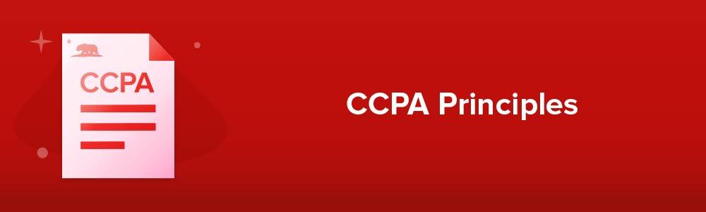 CCPA Principles
