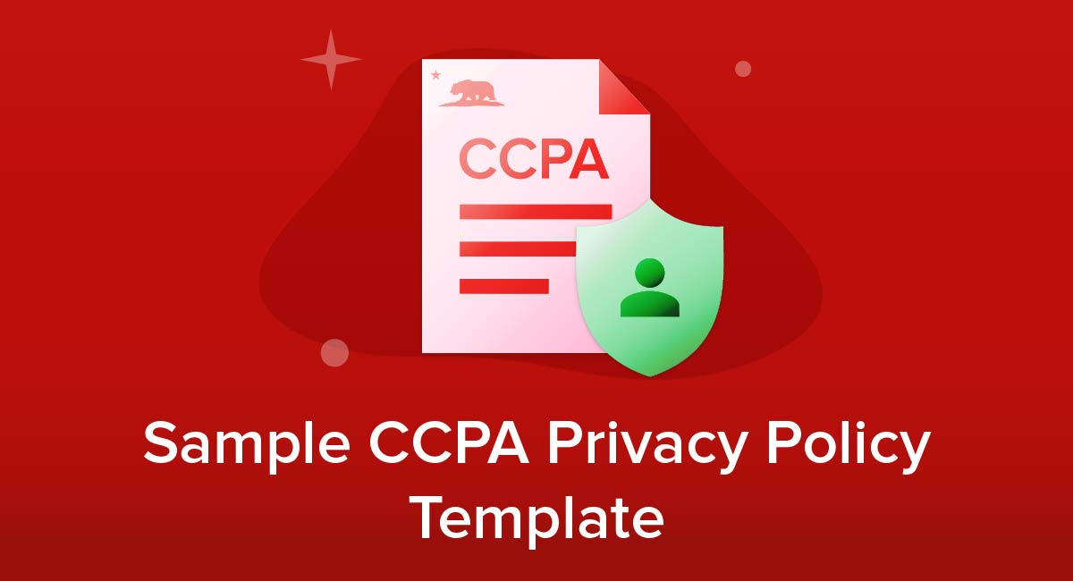 Sample CCPA Privacy Policy Template