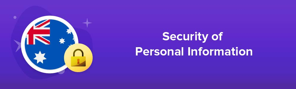 Security of Personal Information