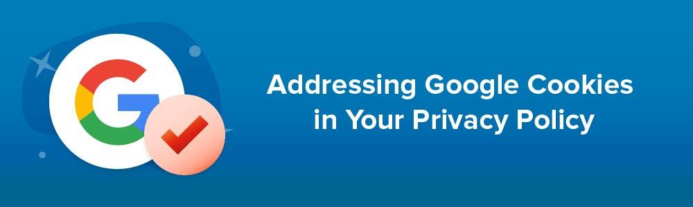 Addressing Google Cookies in Your Privacy Policy