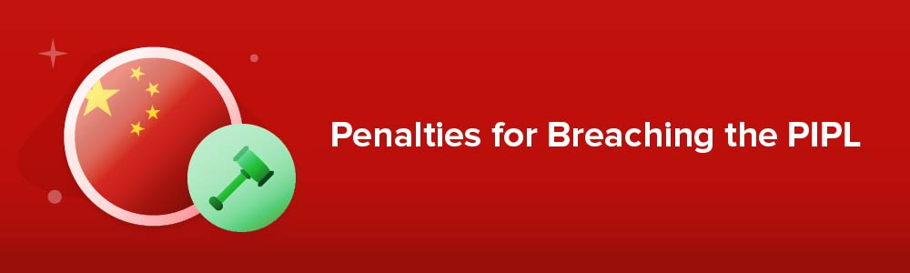 Penalties for Breaching the PIPL